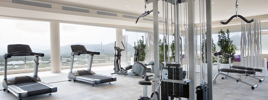 Gym View Aparthotel Playa de Muro Suites
